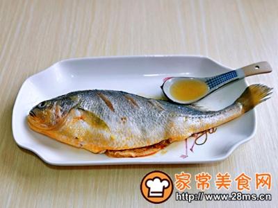 做正宗柠香蒸黄鱼的图片步骤3