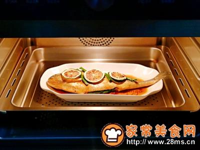 做正宗柠香蒸黄鱼的图片步骤9