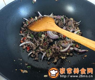 做正宗小炒牛肉沫的图片步骤5