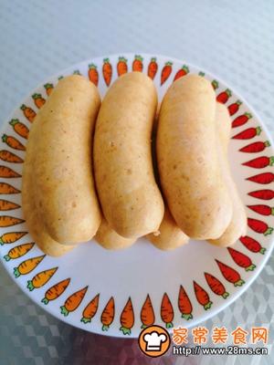 做正宗减肥鸡肉芝士玉米肠的图片步骤10