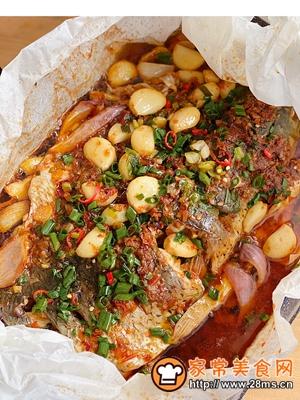 做正宗大厨级别的纸包鱼的图片步骤8