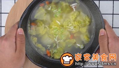 做正宗海米白菜汤的图片步骤10