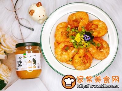 做正宗咸蛋黄�h虾的图片步骤6