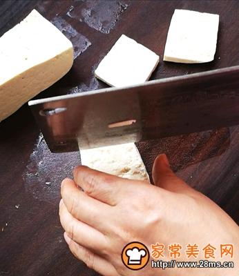 做正宗家常菜之煎豆腐的图片步骤1