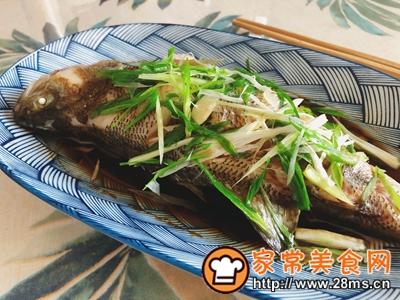 做正宗最适合宝宝吃的清蒸鲈鱼的图片步骤9