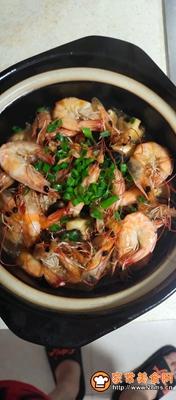 做正宗砂锅香菇虾的图片步骤6