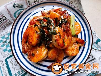 做正宗芝麻海苔虾的图片步骤6