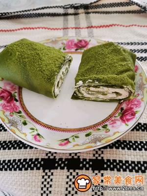 做正宗网红抹茶毛巾卷的图片步骤15