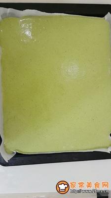 做正宗青汁戚风蛋糕卷的图片步骤6
