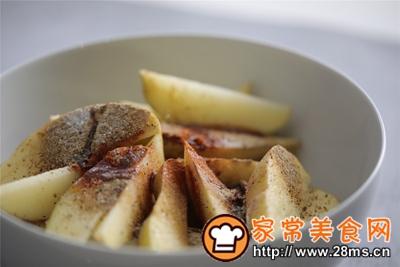 做正宗台式蒸烤箱:椒盐薯角的图片步骤4