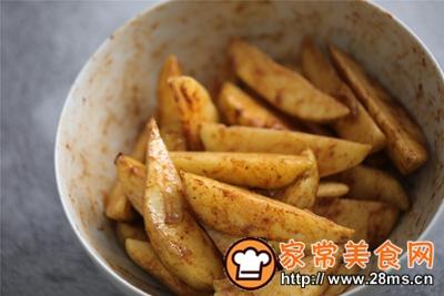 做正宗台式蒸烤箱:椒盐薯角的图片步骤5