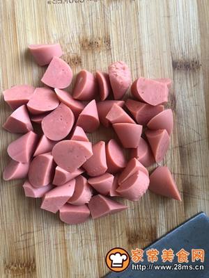 做正宗香煎土豆火腿的图片步骤4