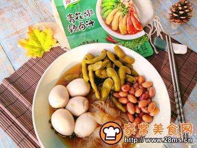 做正宗适合夏日的凉菜:青花椒辣卤菜的图片步骤6