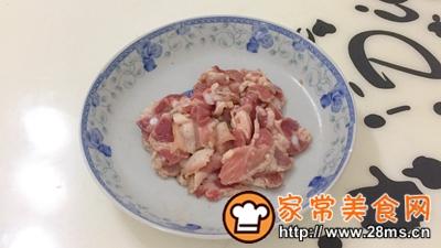 做正宗湘西特色:枞菌炒肉的图片步骤3