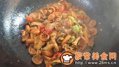 做正宗湘西特色:枞菌炒肉的图片步骤10