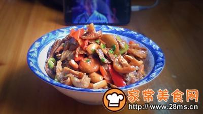做正宗湘西特色:枞菌炒肉的图片步骤12