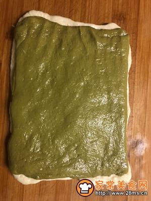 做正宗中种抹茶蜜豆吐司的图片步骤6
