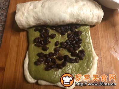 做正宗中种抹茶蜜豆吐司的图片步骤7