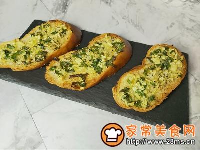 做正宗蒜香黄油烤法棍的图片步骤8