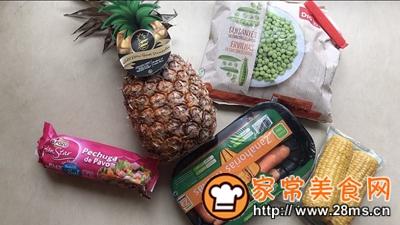 做正宗泰式菠萝饭的图片步骤1