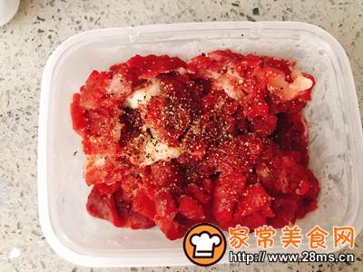 做正宗黑椒牛柳荞麦面便当的图片步骤1