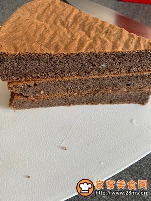 做正宗手残党的黑森林蛋糕的图片步骤4