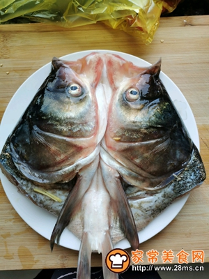 做正宗剁椒鱼头的图片步骤1