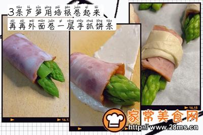 做正宗下午茶:培根芦笋卷饼的图片步骤4