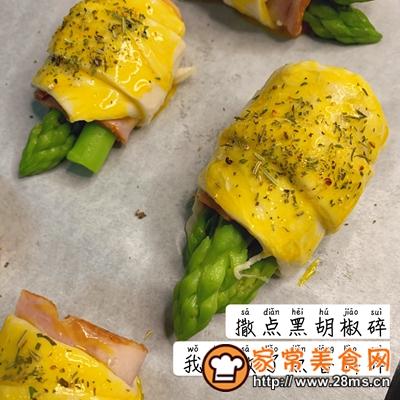 做正宗下午茶:培根芦笋卷饼的图片步骤6
