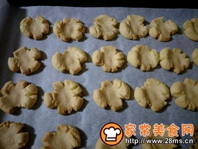 做正宗蛋黄桃酥版玛格丽特饼干的图片步骤14