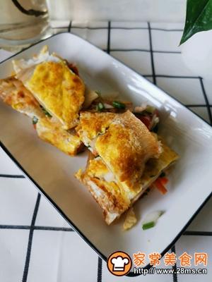 做正宗东北特色小吃:电饼铛烤冷面的图片步骤6