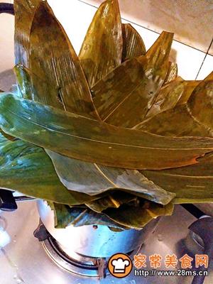 做正宗莲子花生肉粽的图片步骤10