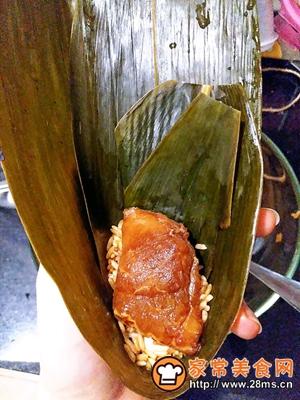 做正宗莲子花生肉粽的图片步骤13