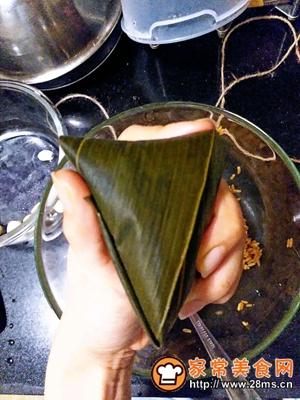 做正宗莲子花生肉粽的图片步骤17