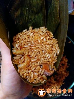 做正宗莲子花生肉粽的图片步骤22