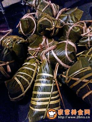 做正宗莲子花生肉粽的图片步骤27