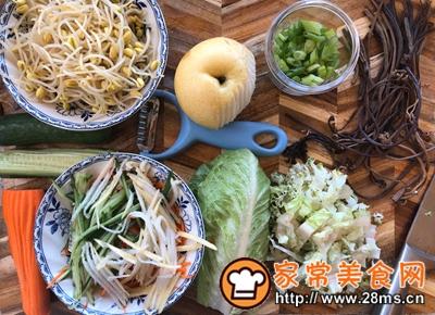 做正宗韩式凉拌荞麦面的图片步骤2