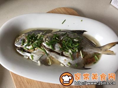 做正宗清蒸鲳鱼的图片步骤8
