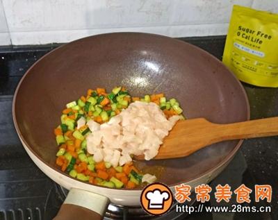 做正宗鸡胸肉蔬菜面包盅的图片步骤8