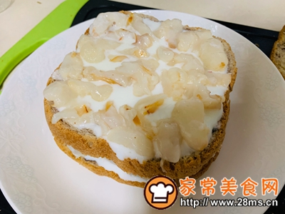 做正宗樱花荔枝酸奶蛋糕的图片步骤4