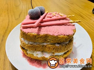 做正宗樱花荔枝酸奶蛋糕的图片步骤5