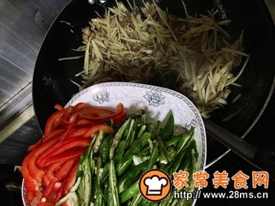 做正宗超级下饭菜子姜肉丝的图片步骤6