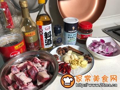 做正宗私房红烧牛肉的图片步骤1