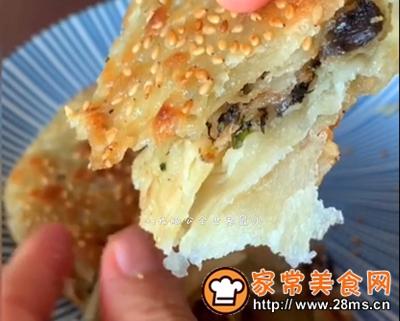 做正宗十分美味的酥皮梅干菜肉饼的图片步骤35