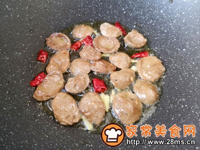 做正宗西蓝花炒牛肉丸子的图片步骤8