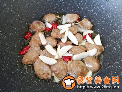 做正宗西蓝花炒牛肉丸子的图片步骤9