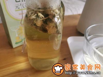 做正宗自制清凉爽滑的珍珠茶冻撞奶的图片步骤3