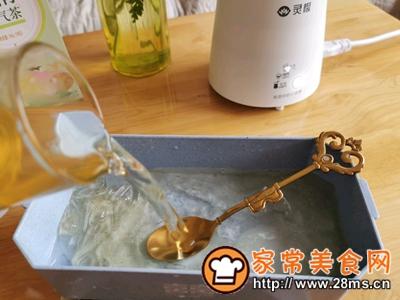 做正宗自制清凉爽滑的珍珠茶冻撞奶的图片步骤9