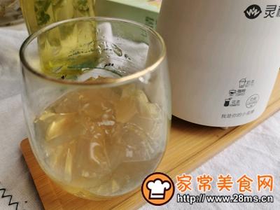 做正宗自制清凉爽滑的珍珠茶冻撞奶的图片步骤12