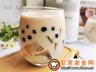 做正宗自制清凉爽滑的珍珠茶冻撞奶的图片步骤15